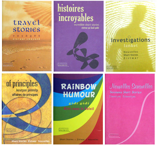 Livres Collection Ile Maurice