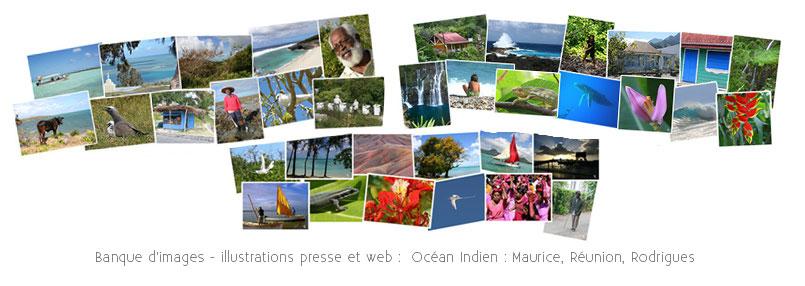 Banque image océan Indien