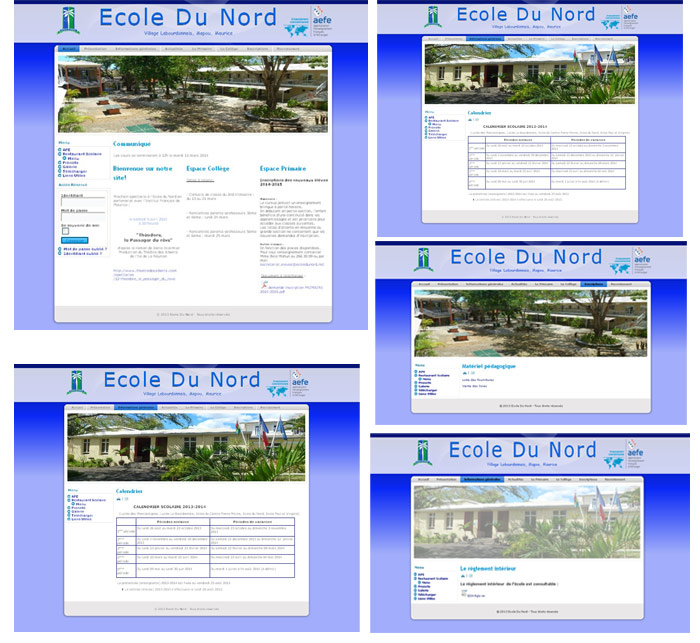 Site web ecole