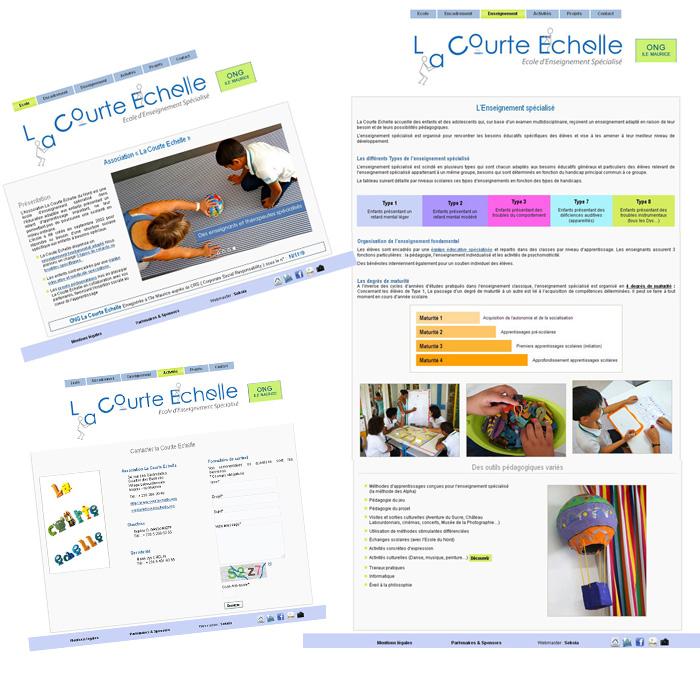 création site web ile Maurice
