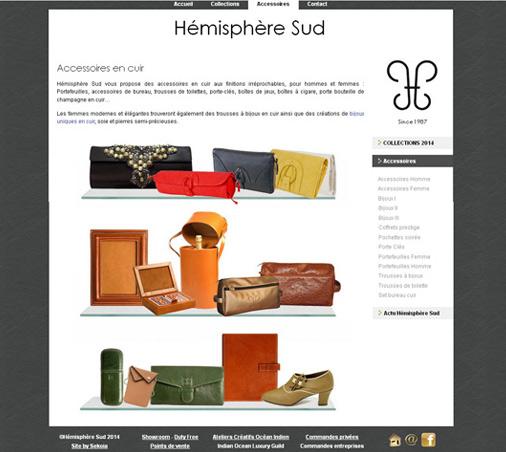 site web Maurice Réunion