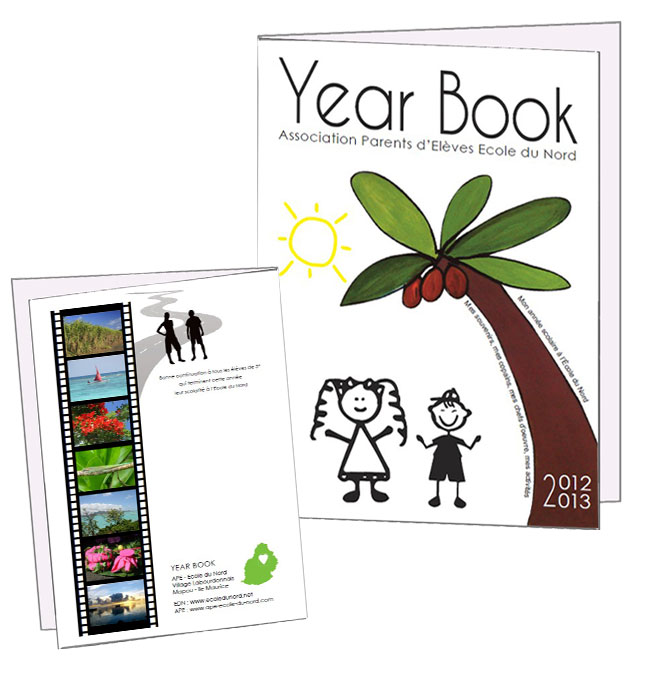Yearbook école